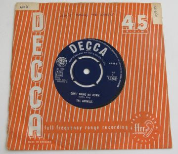 "Animals (The) DONT BRING ME DOWN 1966 UK 7"" RHYTHM & BLUES  NM AUDIO"